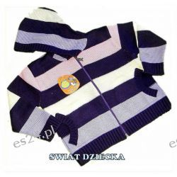 PENGUEN for KIDS Sweter w paski 116(6/7L) Rozmiar 98