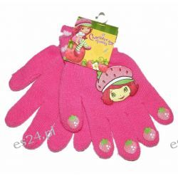 TRUSKAWKOWE CIASTKO Rękawiczki dla dzieci roz 6-12 LAT Rozmiar 110
