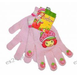 TRUSKAWKOWE CIASTKO Rękawiczki dla dzieci roz 6-12 LAT Rozmiar 128-134