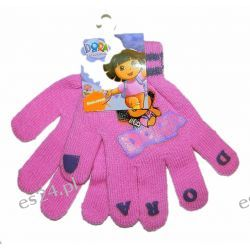 DORA Rękawiczki dla dzieci roz 6-12 LAT Rozmiar 52-54
