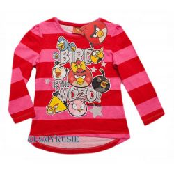 ANGRY BIRDS ROVIO bluzka tunika116(6l)licencja Rozmiar 116