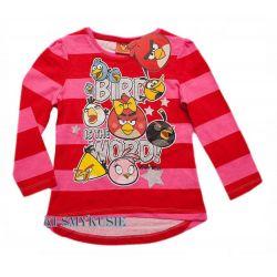 ANGRY BIRDS ROVIO bluzka tunika104(4l)licencja Rozmiar 54-56