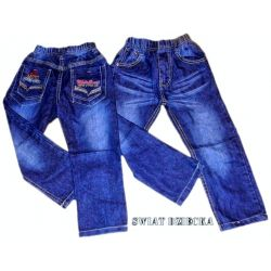 MOTO CROSS Spodnie jeans 122/128(8)