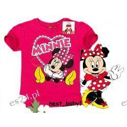 DISNEY MINNIE MOUSE bluzka116/122(6L)rózowy Dla Dzieci