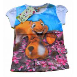 WIEWIÓRECZKA 3D bluzka r.92(2L) Odzież