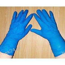 Rękawiczki nitrylowe rozm L XL  Odzież