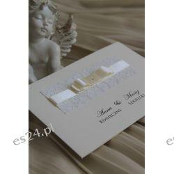 Zaproszenia,zawiadomienia na Ślub, ślubne z kopertą