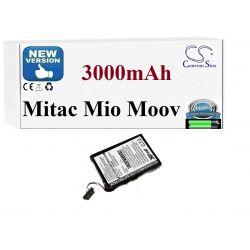 BATERIA Mitac Mio P350 P550 P710 MOOV M400 3000mAh