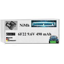 NAJMOCNIEJSZY AKUMULATOR 9V / 9,6V 6F22 490 mAh Playstation Move