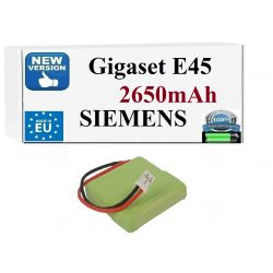 BATERIA Siemens Gigaset E45 E455 E450 SIM Twin ECO Urządzenia stacjonarne