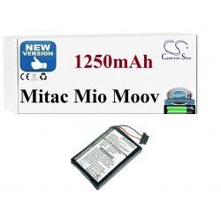 Bateria do Mitac Mio Moov 300 310 330 510 560 580 GPS i akcesoria