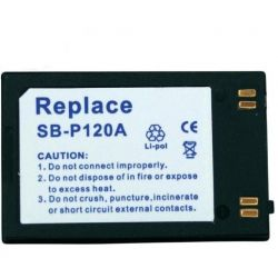 BATERIA DO Samsung SB-P120ABK SB-P240ABK VP-X210L Akcesoria