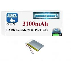 BATERIA TABLET LARK FreeMe 70.0  WD605075 OV-TB-03 GPS i akcesoria