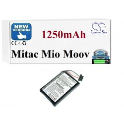 BATERIA Mitac Mio Moov 300 330 350 500 580 1250mAh GPS i akcesoria