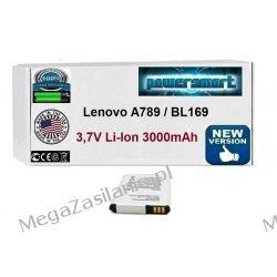 BATERIA AKUMULATOR Lenovo A789 BL169 3000mAh 3,7V Telefony i Akcesoria