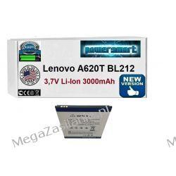 BATERIA AKUMULATOR Lenovo A620T BL212 3000mAh  Telefony i Akcesoria