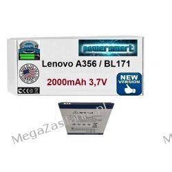 AKUMULATOR BATERIA Lenovo A356 BL171 A60A A500 A50 A390 A376 2000mAh Telefony i Akcesoria