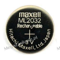 Akumulator do PSION G1 WA3005 ML2032 Maxell 3V Materiały i akcesoria
