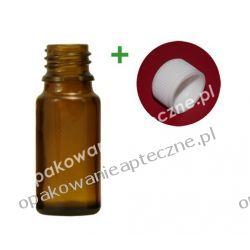 Butelka szklana brązowa nakrętką 10 ml / 100 sztuk