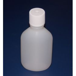 Butelka HDPE z bezpieczną nakrętką 60 ml - 5 sztuk