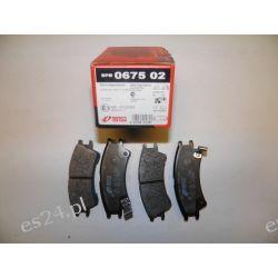 KLOCKI HAMULCOWE ATOS 1.0 REMSA 0675 02 WVA23238 OEM.58101-02A00 Końcówki drążków kierowniczych