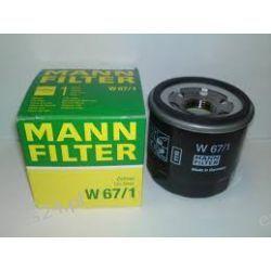 FILTR OLEJU MANN W67/1 M20X1,5