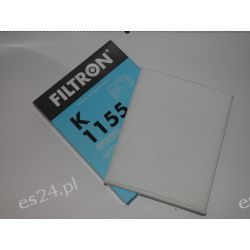 FILTR KABINOWY FILTRON K1155 Zamiennik KRAFT 1730210,MANNCU2842 OE.7H0819631