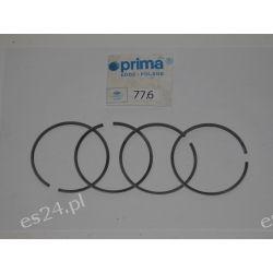 PIERŚCIENIE TŁOKOWE FIAT 126P 650,FSO POLONEZ 1.5 ,III szlif 77.6 CHROMOWE Oryginał firmy Prima OE.4357369,7547987   Pierścienie tłokowe