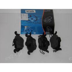 KLOCKI HAMULCOWE KRAFT 6001640 WVA23063;Opel ASTRA F/G,Zamiennik REMSA 068402,ABE C1X019.OE.1605034   Powietrza