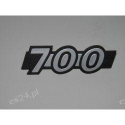 """Znak modelu Fiata 126p BIS  """" 700""""-oryginał OE.200016746 Gadżety motoryzacyjne"""