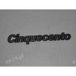 """Znak modelu tylny FIAT """"Cinquecento"""" OE.7747245 Oryginał Gadżety motoryzacyjne"""