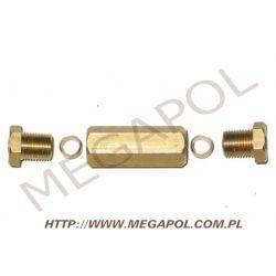 Złączka rury miedzianej 6/6/10x1mm kpl...
