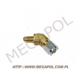 Złączka kątowa rury PCV6mm/10x1/135 stopni...
