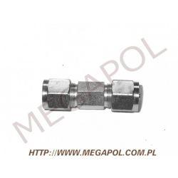 Złączka prosta rury PCV6/PCV6mm...