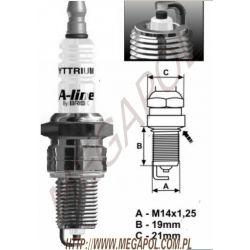 LR15YCY Brisk A-Line 2 / jedna elektroda...