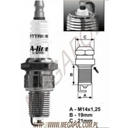 LR17YCY Brisk A-Line 6 / jedna elektroda...