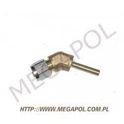 Złączka kątowa rury PCV6mm/Cu6mm/135 stopni...