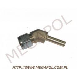 Złączka kątowa rury PCV8mm/Cu8mm/135 stopni...