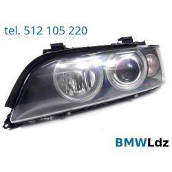 REFLEKTOR LAMPA LEWA LEWY PRZÓD BMW E39 LIFT XENON