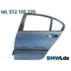 DRZWI LEWE LEWY TYŁ TYLNE BMW 3 E46 SEDAN 4D 98-05