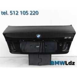 KLAPA TYŁ TYLNA BMW 3 E46 SEDAN SCHWARZ 2 668