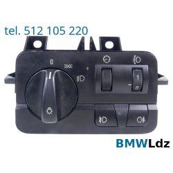 PRZEŁĄCZNIK WŁĄCZNIK ŚWIATEŁ BMW E46 -01 8383226