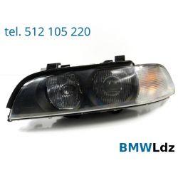 REFLEKTOR LAMPA PRZÓD LEWY BMW 5 E39 KSENON XENON