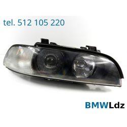 REFLEKTOR LAMPA PRZÓD PRAWY BMW 5 E39 KSENON XENON