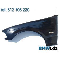 BŁOTNIK LEWY PRZÓD PRZEDNI BMW E46 98-01 SCHWARZ