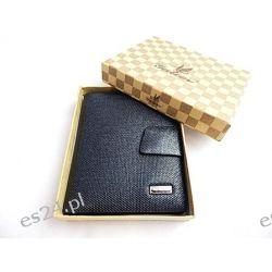 Wyprzedaż, męski portfel idealny prezent