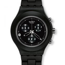 SWATCH FULL BLOODED SMOKY BLACK
