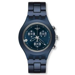 SWATCH FULL BLOODED SMOKY BLUE