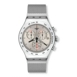 SWATCH IRONY CHRONO SILVERISH