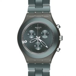 SWATCH FULL BLOODED SMOKY GREY